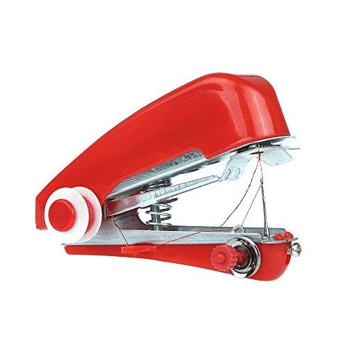 OurLeeme Mini portátil de mano Máquina de coser Máquina de Costura