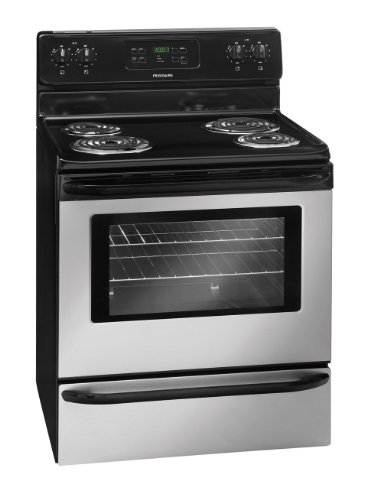 """Frigidaire FFEF3015LS30"""" Stainless Steel Electric Coil Range"""