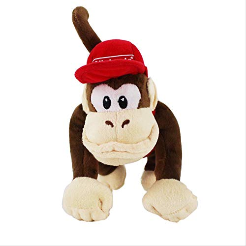 Therfk Super Mario Bros Donkey Kong Diddy Kong Macacos Animais Animales Muñecas Juguetes 22Cm