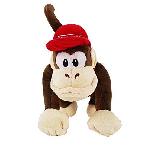 Super Mario Bros Donkey Kong Diddy Kong Macacos Animais Animali Bambole Giocattoli 22Cm