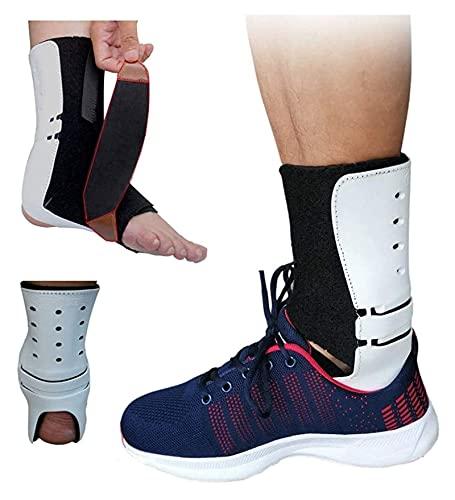 Corrector postural del pie del Tobillo, Abertura del Tobillo de la férula de los pies con estabilizadores adecuados para la cirugía de Gota de Tobillo o pies y Deportes. (Size : Left)