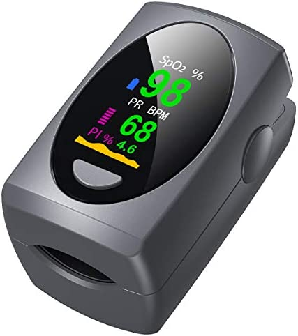 Pulse Oximeter Fingertip Digital Blood Oxygen Saturation Monitor for Heart Rate Monitor and product image