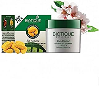 Biotique Bio Almond Overnight Therapy Lip Balm 12 g