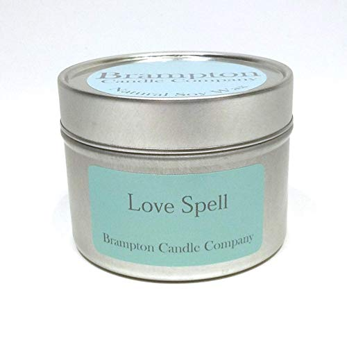 Love Spell Hand-Poured Soy Wax Candle