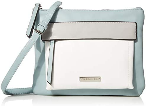 Madden Girl Colorblock Crossbody Bag Mint Multi product image