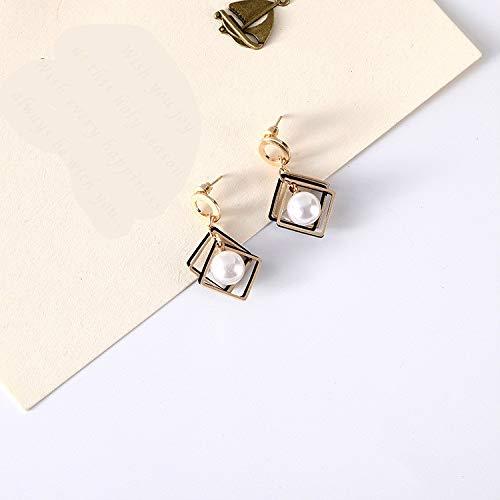 Modenny Art und Weise Neue Ohrringe Persönlichkeit Einfache Temperament Perle Damen-Ohrringe Wholesale Sales heiße Ohrringe