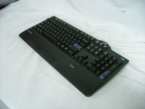 Lenovo Black USB Fingerprint Keyboard - KUF0452