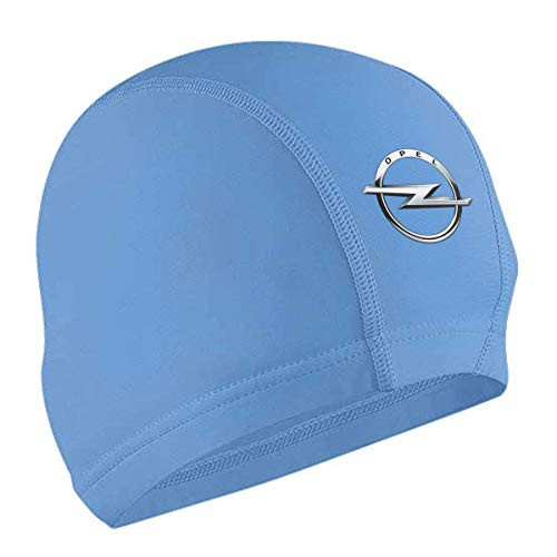 shenguang Customized Letters On The Logo of The Opel Logo Swimming Cap for Womens Black