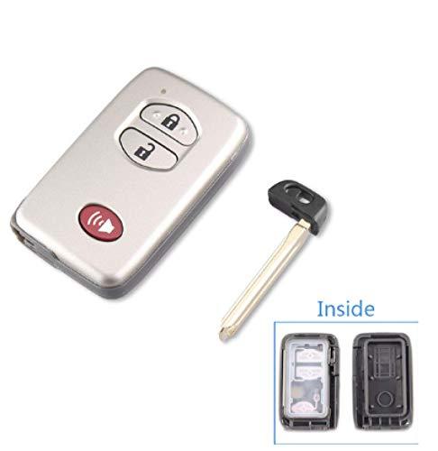 DFCVB Flip 3 Botones Remote Key Shell para Lancia Ypsilon Car Alarm Fob Colorido Combo Caso Amarillo