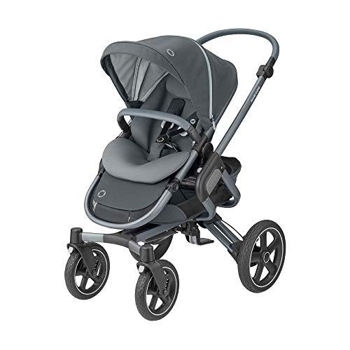 Maxi-Cosi Nova Cochecito bebé 6 meses - 3.5 años, reclinable, manillar ajustable en altura, plegado maños libres intuitivo, color essential graphite