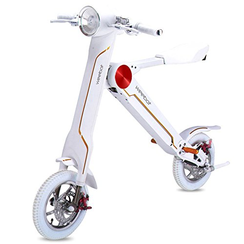 Weebot Alpha mini scooter elettrico, colore: Bianco