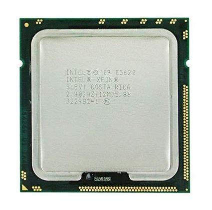 Intel Xeon E5620 2.40Ghz 12Mb 4-Core Cpu 80W 594887-001, Slbv4