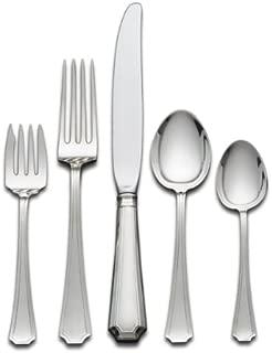 Gorham Fairfax 5-Piece Sterling Silver Flatware Dinner Set, Service for 1