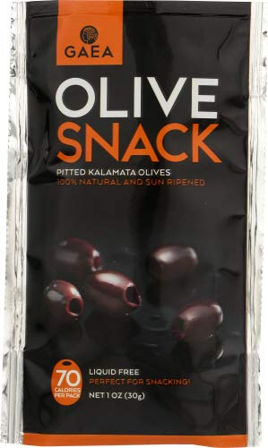 Gaea North America Olive Pitted Kalamata 6 oz - Super beauty product restock quality top! 1 Pack Phoenix Mall of