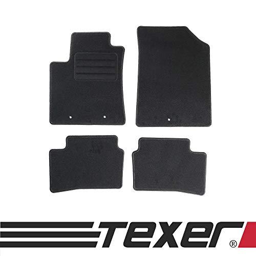 CARMAT TEXER Textil Fußmatten Passend für Hyundai i10 II Bj. 2013- Basic
