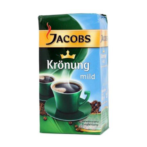 Jacobs Krönung Mild Gemahlener Kaffee 12x500 gr.