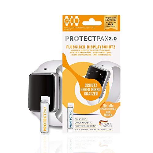 ProtectPax Smartwatch Flüssiger Bildschirmschutz aus die Höhle der Löwen - für alle Samsung Apple Watch Nano Versiegelung Schutzfolie Panzerglas (1er Set)