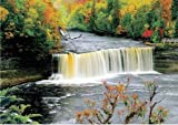 WCI 3D Effect Big 19.5' x 27.5' Lenticular/Poster Stereoscopic Print Paint Plastic Picture - Water Fall