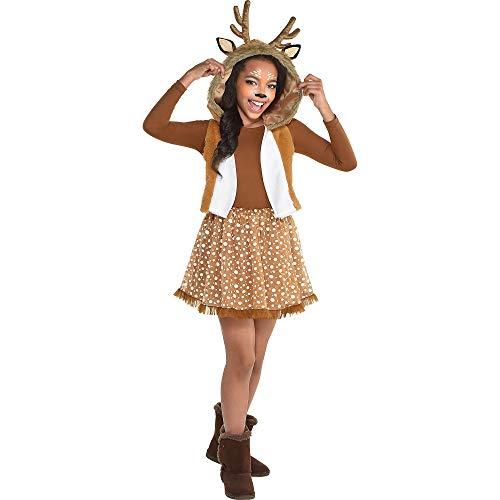Adorable Girls Deer Costume