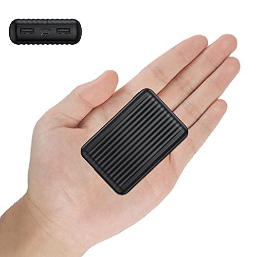 Undreem Batería Externa 10000mAh PD 18W Carga rápida QC 3.0,Ultra mini Quick Charge Power Bank Type-C,3-salida Cargador portatil USB C/A (3A+3A),Banco de energía para iPhone,iPad,Samsung,Huawei,Xiaomi
