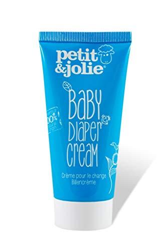 Petit&Jolie Crème pour couches bébé 75ml - Tout naturel, Testé et cerfifié