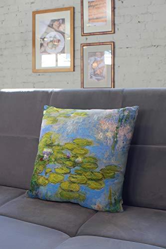 Lplpol - Funda de cojín decorativa para decoración del hogar, sofá, sofá, cama, 56 x 56 cm
