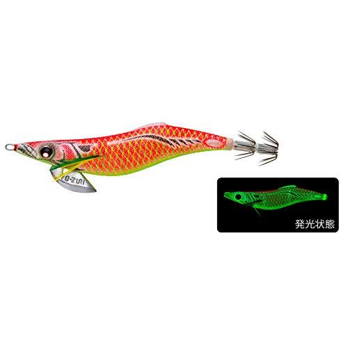 YO-ZURI(ヨーヅリ) ルアー エギ アオリーQ フィンエース 3.5号 重量:19g A1748-LBI-夜光ボイル