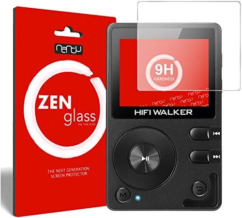 ZenGlass Flexible Glas-Folie kompatibel mit HiFi Walker H2 MP3-Player Panzerfolie I Bildschirm-Schutzfolie 9H