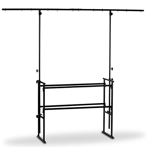 4ft DJ Deck Stand Heavy Duty Metalen Overhead Verlichting Bar & 4ft Plank Pakket