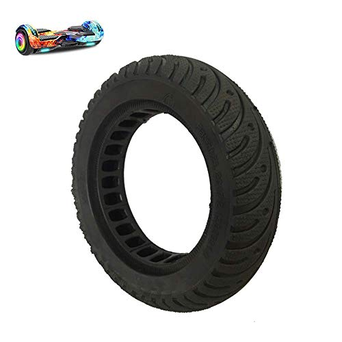 MJJ Electric Scooter Tire, 200X50 Honeycomb Explosion-Proof Tire, Puncture-Proof Hollow Shock-Absorbing Rubber, No Inflation, Suitable for 8-inch Balance Bike, 2pcs