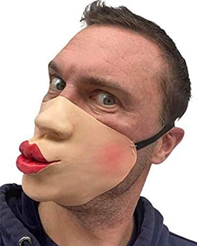 Rubber Johnnies TM Baiser Masque Latex Film FX Quality Déguisement Masquerade