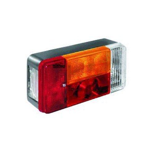 Van Wezel 9902923 achterlicht links, grijs
