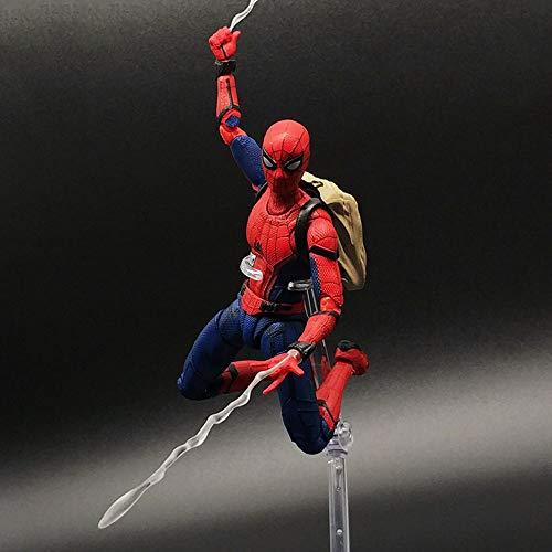 Model Spider-Man: Homecoming Figura De Acción Marvel Avengers Juguete Personaje Animado Niños Juguete Spiderman
