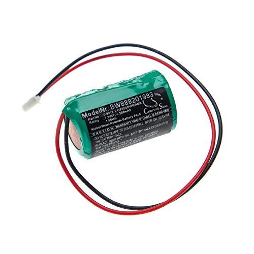 vhbw batería Compatible con Visonic PowerMax Bell Box, MCS-700 Control de Alarma Seguridad (230mAh, 7,2V, NiMH)