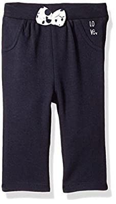 Robeez baby-girls Knit Pants, Navy, 24 Months