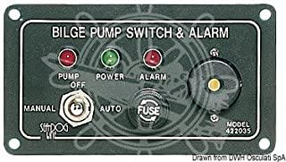 Mejor Bilge Pump Switch Alarm