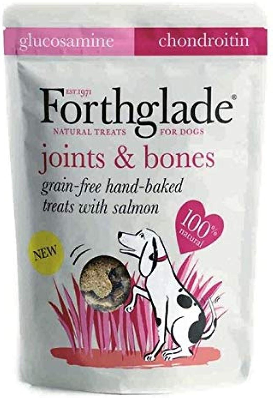 4X Forthglade Joints Grain Free Treat Salmon, Glucosamine & Chondroitin 150g