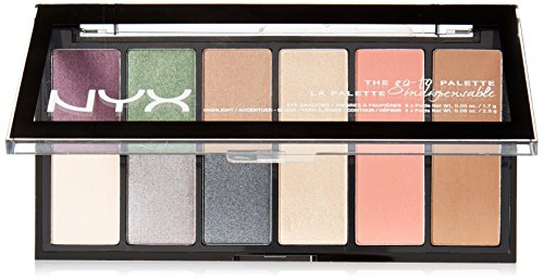 NYX PROFESSIONAL MAKEUP Go-to Palette, Bon Voyage $5.50(68% Off)