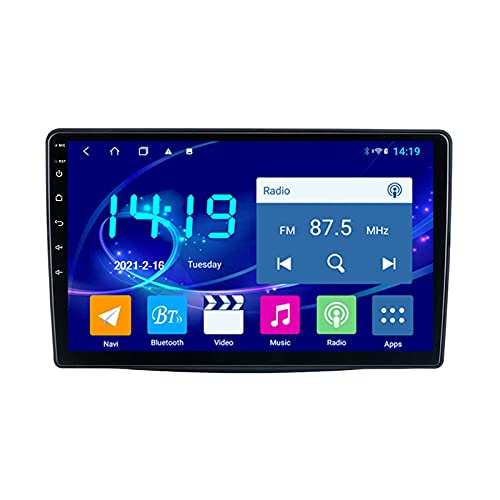 Android 10.0 Radio Stereo per FIAT 500L 2012-2017 Navigazione GPS Touchscreen da 9 pollici Lettore multimediale MP5 Ricevitore video con 4G WiFi SWC Carplay