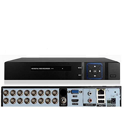 DVR 16 CANALI DI INGRESSO BNC 5 MPX IBRIDO 6 IN 1 ONVIF COMPATIBILE P2P