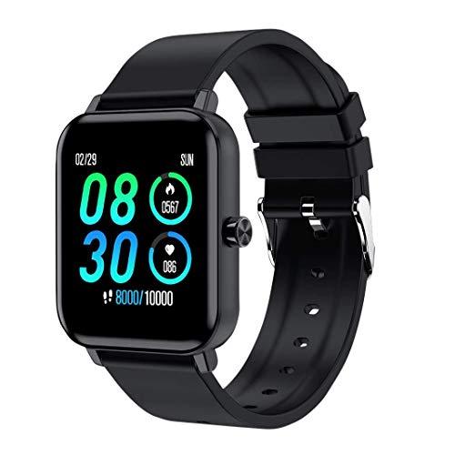 Reching Smartwatch, Reloj Inteligente Impermeable IP68 para Hombre Mujer niños, Pulsera de Actividad Inteligente con Monitor de Sueño Contador de Caloría Pulsómetros Podómetro para Android iOS