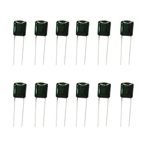 yotijar 160 Piezas 16 Valores 630 V 2J102-2J224 Condensador de Película de Poliéster