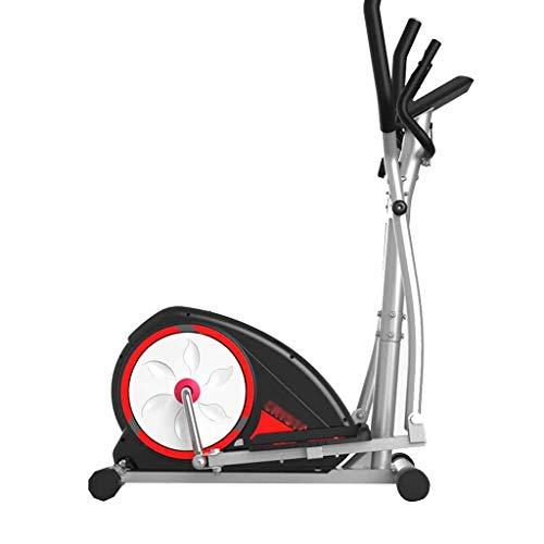 Elípticas Escalera De Ejercicios para Interiores Entrenador Profesional Equipo De Fitness De Magnetrón Pequeño para El Hogar Resistencia De 8 Velocidades Rodilleras Científicas