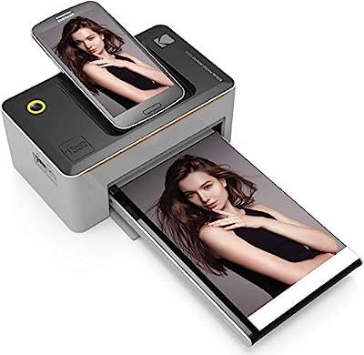 "Kodak Dock & Wi-Fi Portable 4x6"" Instant Photo Printer, Premium Quality Full Color Prints Compatible by Kodak"