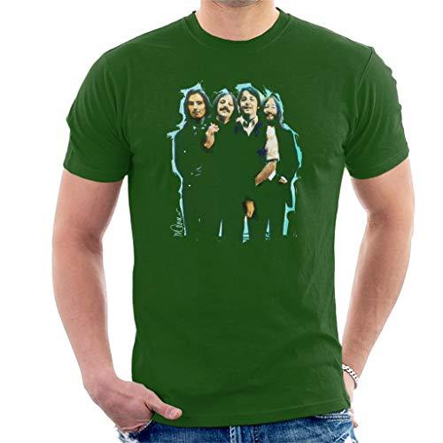 VINTRO The Beatles Bowl - Camiseta de pelo largo para hombre, diseño de Sidney Maurer