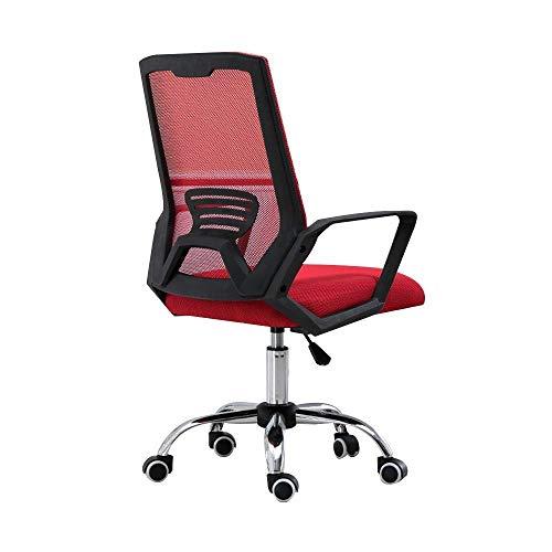N/Z Daily Equipment Chair Bürostuhl Executive Office Chair Ergonomisch Verstellbarer Stuhl Drehbarer Computerstuhl Bequemer gepolsterter Mesh-Stuhl Grün