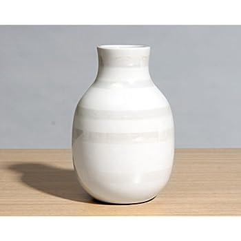 【ケーラー】ケーラー Omaggio(オマジオ) フラワーベース/花瓶 125mm パール [並行輸入品]