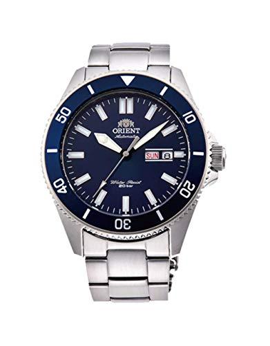 Orient Reloj Analógico para Hombre de Automático con Correa en Acero Inoxidable RA-AA0009L19B
