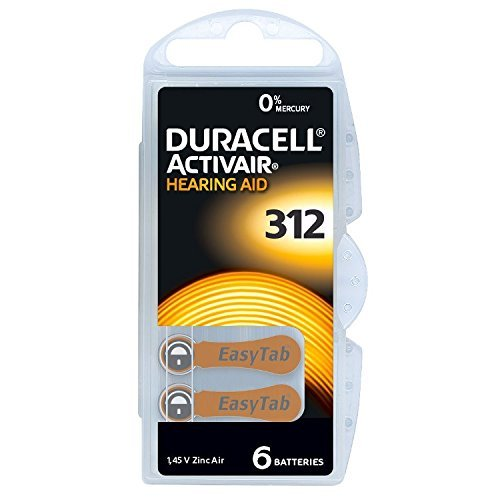 Batterie für Hörgeräte '312'