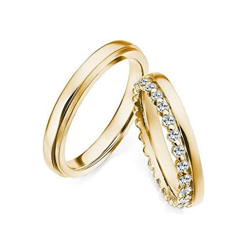 KnSam Hombre Mujer    Oro amarillo 750/1000 Rond brillant    Diamond
